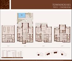 Town House Plans by 5 Bedroom Apartment Floor Plans Nrtradiant Com