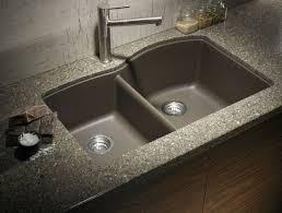Cheap Kitchen Sinks Black Black Granite Undermount Sink Canlisohbethattiniz