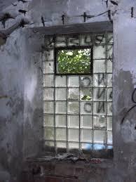 file glass block window factory ruins graffiti české budějovice