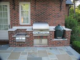 Backyard Brick Patio Design With Grill Station Seating Wall And by Best 25 Brick Built Bbq Ideas On Pinterest Pit Bbq Brick Bbq