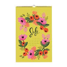 2014 secret garden wall calendar rifle paper co linoluna co id