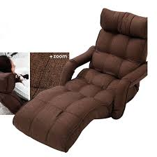 Sleeper Sofa With Chaise Lounge Floor Foldable Chaise Lounge Chair 6 Color Adjustable Recliner
