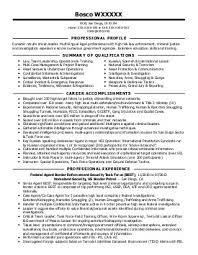 Sample Of Resume Objective Statements by Download Criminal Justice Resume Objective Examples