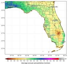 Florida State University Map by Prism Precipitation Maps For The Southeast U S Southeast