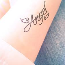 shop angel wing tattoos on wanelo