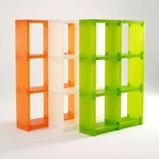 smart fixtures cubitec modular plastic shelves in lime green