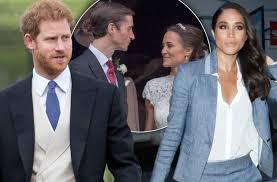 pippa middleton wedding prince harry miserable meghan markle pics