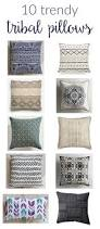 Beautiful Sofa Pillows by Trendy Tribal Throw Pillows Two Purple Couches