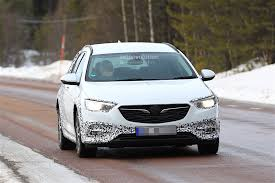 opel zafira 2018 2018 opel insignia country tourer spied almost undisguised