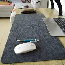 desk size mouse pad large size mouse pad plain extended anti slip natural wool felt