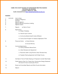 nonprofit board meeting agenda template best template examples