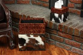 Cowhide Christmas Stockings Cowhide Home Décor Just In Time For Fall Cowgirl Magazine