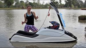 how to ride a stand up jet ski the basics youtube