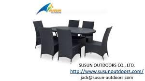 china outdoor rattan furniture manufacturers outdoor metal
