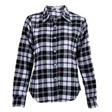 Black And White Plaid Shirt Womens Online Get Cheap Purple Flannel Shirt Aliexpress Com Alibaba Group