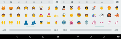 new android emojis the new android lollipop keyboard comes with updated emoji