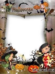 halloween photo frames png and psd free download 9 photo frames