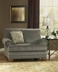 Ashley Furniture Oversized Chair Parcal Estates Basil Chair And Half By Ashley Home Gallery Stores