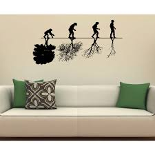 728 best wall design images evolution man animal tree wall art sticker decal free shipping