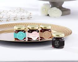 jam wedding favors personalized strawberry jam set of 12 wedding kate aspen