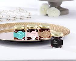 jam wedding favors personalized strawberry jam set of 12 wedding kate aspen