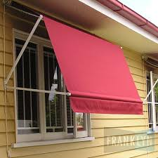 Fabric Awnings Brisbane Drop Arm Franklyn Blinds Awnings Security