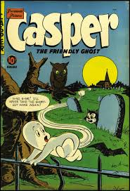 Vintage Halloween Books by Fantasy Ink Casper The Friendly Ghost