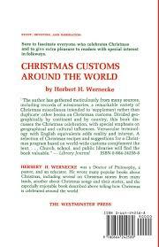 christmas customs around the world herbert h wernecke