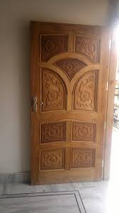 Door Design In Wood Single Wooden Door Design Gharexpert