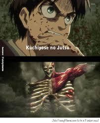 funny naruto meme manga memes eren uses kuchiyose no jutsu