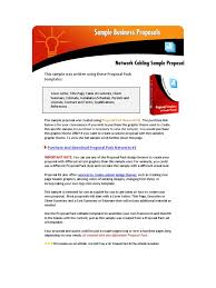 home network design proposal sample networking proposal computer network network switch