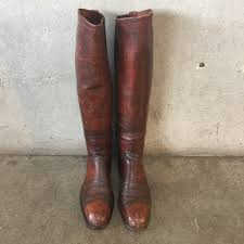 1930 u0027s dehners omaha calvary dress boots with stretchers