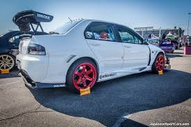 subaru voltex mitsubishi lancer evo ix with voltex body kit and volk racing