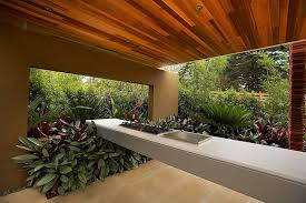 Tropical Outdoor Kitchen Designs Modern Landscape Design Ideas From Rolling Landscapes