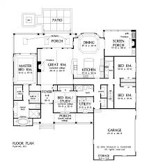 house plans with screened porches floorplan the simon house plan 1351 it would just make the