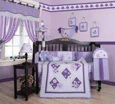 geenny 13 pc crib bedding set lavender butterfly