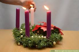 Why Do Catholics Light Candles How To Light The Advent Candles 8 Steps With Pictures Wikihow