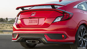2017 honda civic si coupe rear hd wallpaper 40