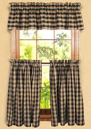 black tea dyed buffalo check curtain collection yes the curtains