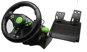 gaming steering wheel jietron gaming vibration racing steering wheel and for xbox 360