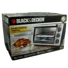 Black And Decker Home Toaster Oven Black U0026 Decker Convection Countertop Oven Shop Toasters At Heb