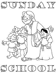 Preschool Sunday School Coloring Pages sunday school coloring pages free coloring pages for