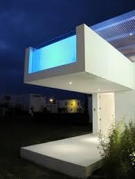 Modern Beach House Modern Beach House In Peru With Overhang Pool Casa Playa Blanca