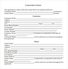 sample contractual agreement 5 documents in pdf word