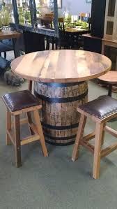 best 20 wine barrel table ideas on pinterest whiskey barrel