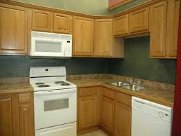 Kitchens With Different Colored Cabinets Charming Kitchen Color With Oak Cabinets 2planakitchen