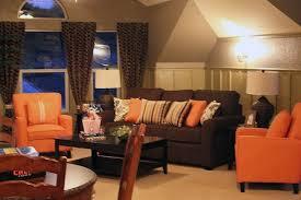 brown and orange living room ecoexperienciaselsalvador com