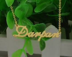 Make Your Own Name Necklace Make Name Necklace Etsy