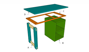 How To Build A Small Desk How To Build A Small Desk Howtospecialist How To Build Step