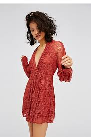 uptown lace mini dress free people uk